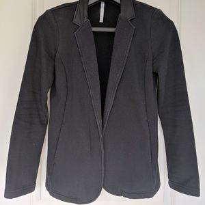 Fabletics Causal Black Blazer with elbow details